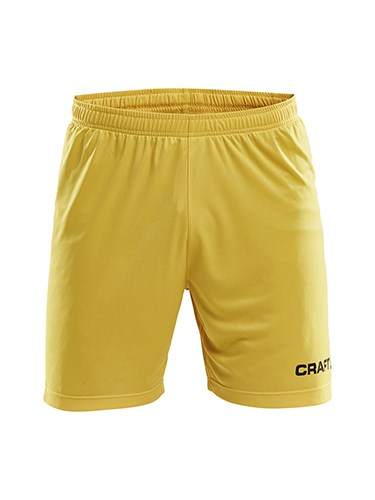 Craft Squad solid short men Swe. yellow m