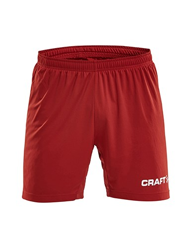 Craft Progress contrast short jr br.red/white 146/152