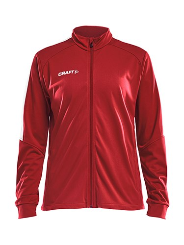 Craft Progress jacket wmn br.red/white xs