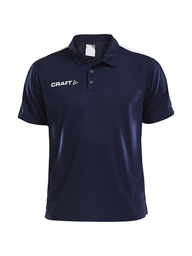 Craft Progress polo piqué jr navy/white 158/164