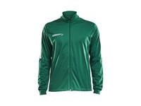 Craft Progress jacket jr team gr/whi 158/164