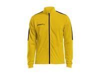 Craft Progress jacket jr yellow/black 122/128