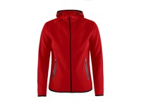 Craft Emotion full zip hood wmn bright red xl