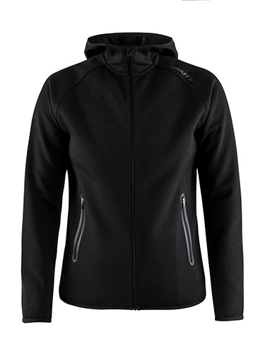 Craft Emotion full zip hood wmn black xxl