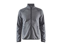 Craft Emotion full zip jacket men dk grey mel xl