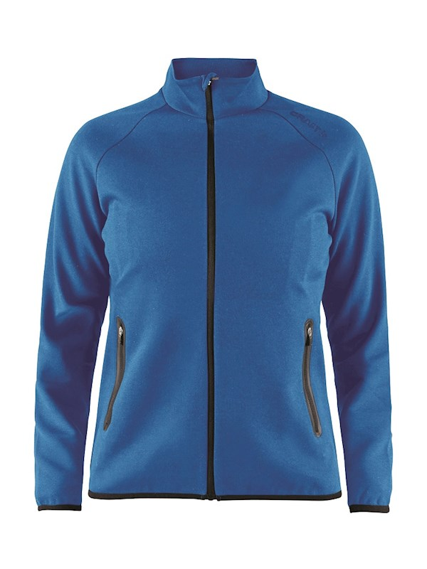 Craft Emotion full zip jacket wmn Swe. blue m