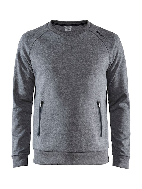 Craft Emotion crew sweatshirt men dk grey mel m