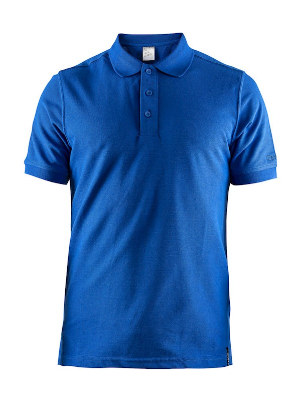 Craft Casual polo pique men Swe. blue xl
