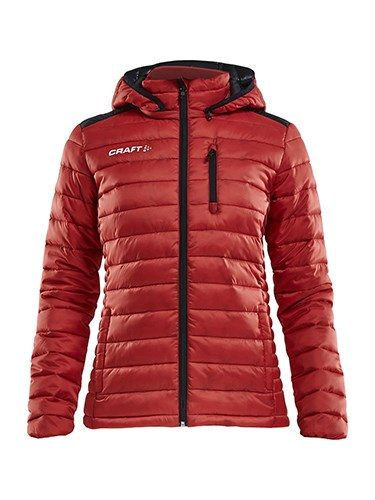 Craft Isolate jacket wmn br.red/black xl