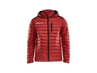 Craft Isolate jacket jr br.red/black 146/152
