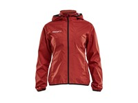 Craft Jacket rain wmn br.red/black s