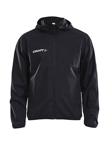 Craft Jacket rain jr black 134/140