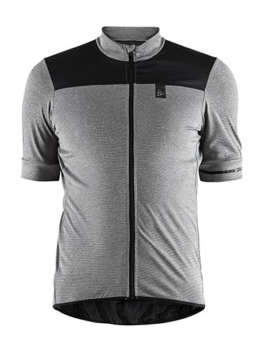 Craft Point bike jersey men dk grey mel. 4xl