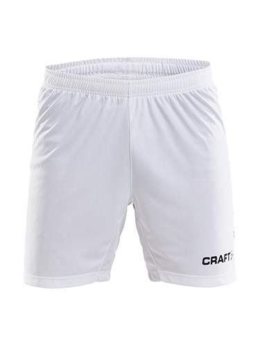 Craft Progress contrast short-bb jr white/royal 122/128