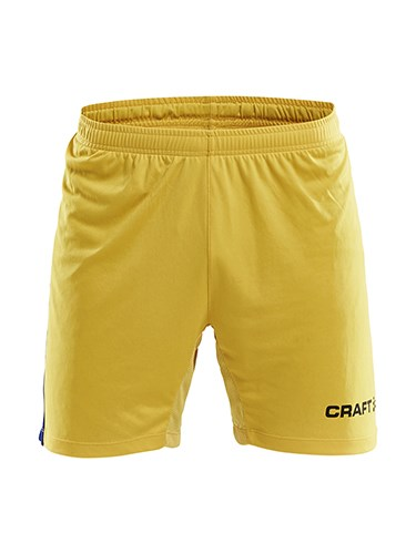 Craft Progress contrast short-bb jr Sw.yel/cl co 134/140