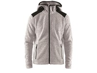 Craft Noble hood fleece men grey melange m