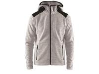 Craft Noble hood fleece men grey melange s