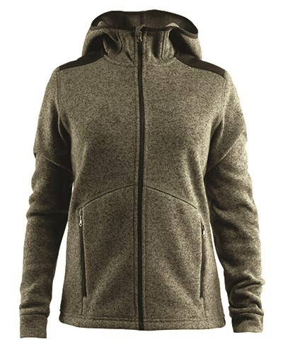Craft Noble hood fleece women dark forest s