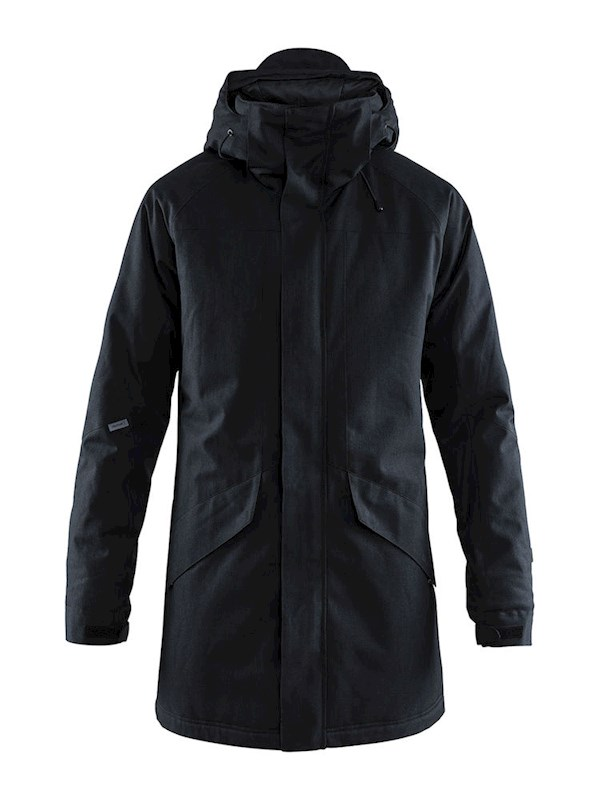 Craft Mountain padded parkas men black mel. s