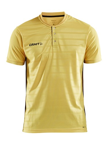 Craft Pro Control button jersey men yellow/black l