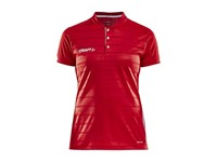 Craft Pro Control button jersey wmn br.red/white xxl
