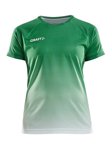 Craft Pro Control fade jersey wmn team gr/whi l