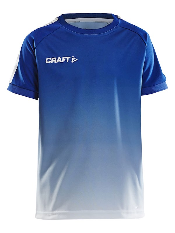 Craft Pro Control fade jersey jr cobolt/white 122/128