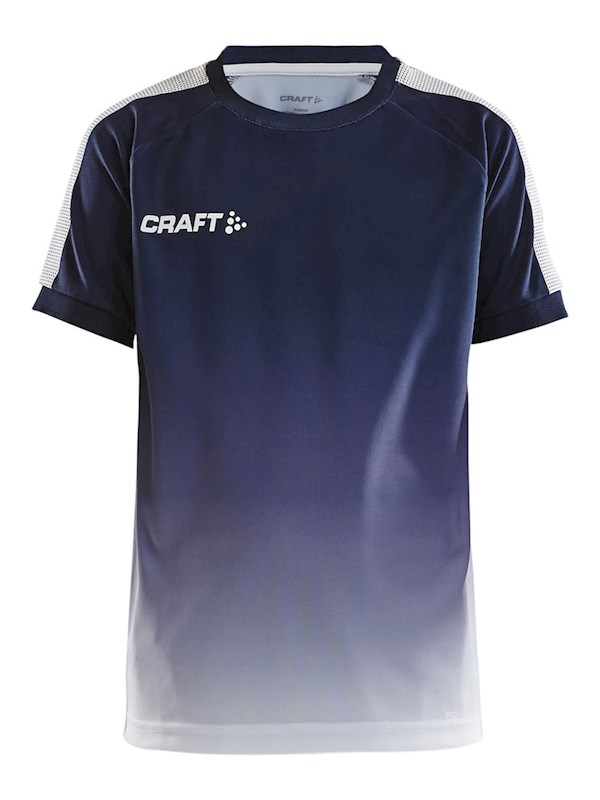 Craft Pro Control fade jersey jr navy/white 146/152