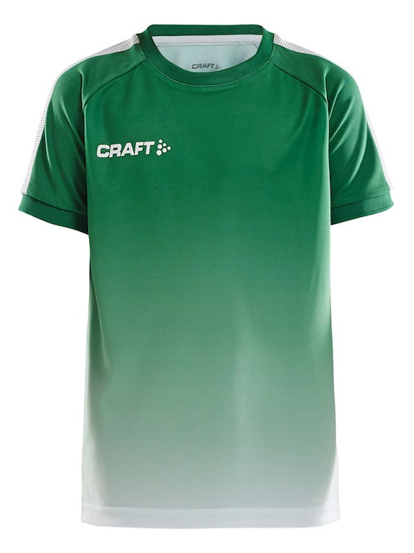 Craft Pro Control fade jersey jr team gr/whi 134/140