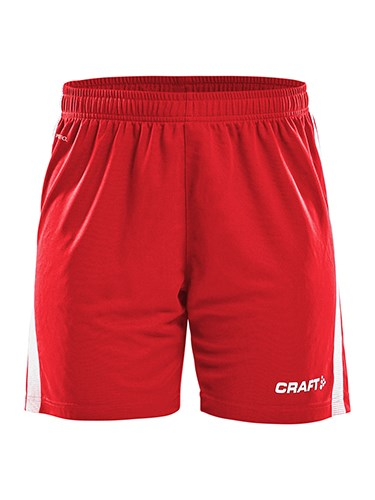 Craft Pro Control shorts wmn br.red/white s