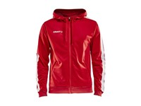 Craft Pro Control hood jacket men br.red/white l