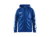 Craft Pro Control hood jacket jr royal/white 158/164