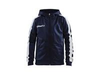 Craft Pro Control hood jacket jr navy/white 134/140