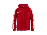 Craft Pro Control hood jacket jr br.red/white 146/152