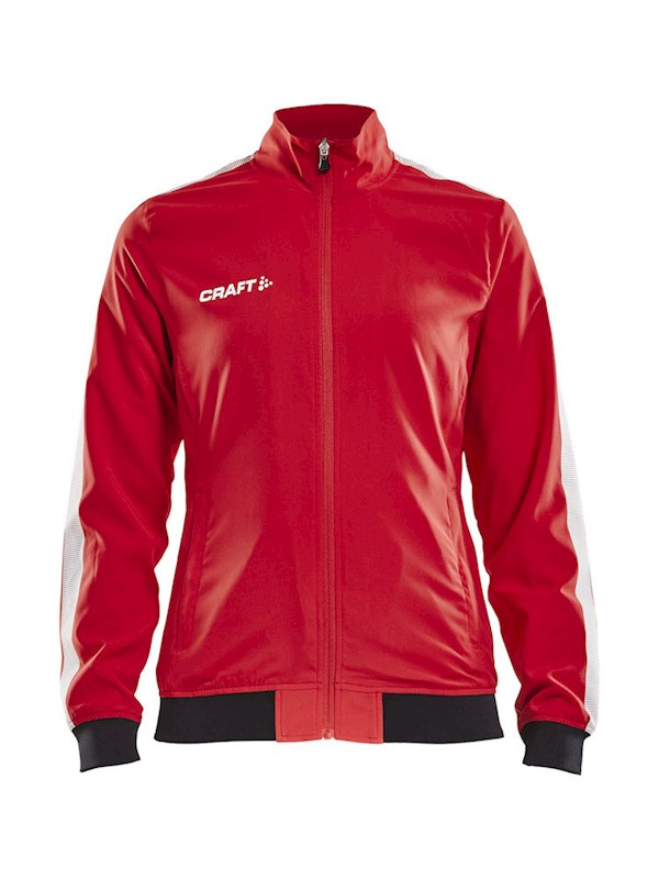 Craft Pro Control woven jacket wmn bright red l