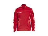 Craft Pro Control softshell jacket men bright red s