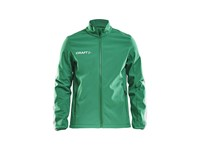 Craft Pro Control softshell jacket men team green l