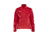 Craft Pro Control softshell jacket wmn bright red xs