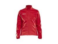 Craft Pro Control softshell jacket wmn bright red xl