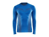 Craft Pro Control seamless jersey ls men royal blue m