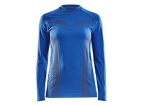 Craft Pro Control seamless jersey ls wmn royal blue xs