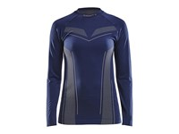 Craft Pro Control seamless jersey ls wmn navy l