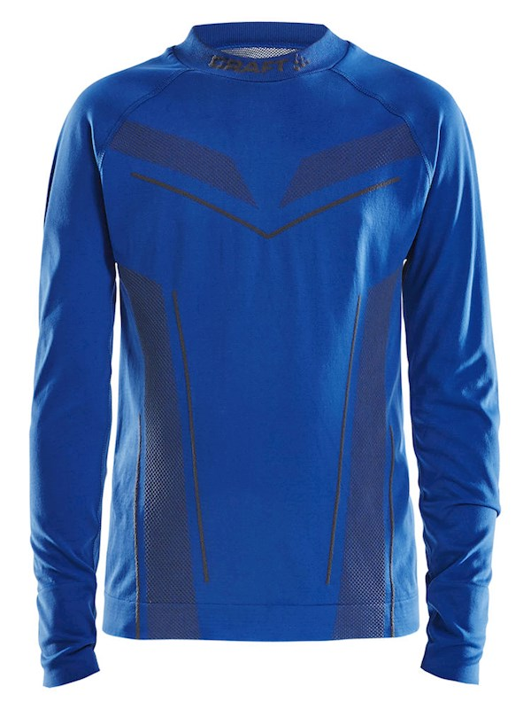 Craft Pro Control seamless jersey ls royal blue 134/140