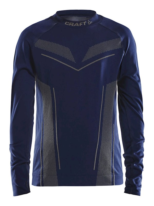 Craft Pro Control seamless jersey ls navy 158/164