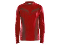 Craft Pro Control seamless jersey ls bright red 146/152