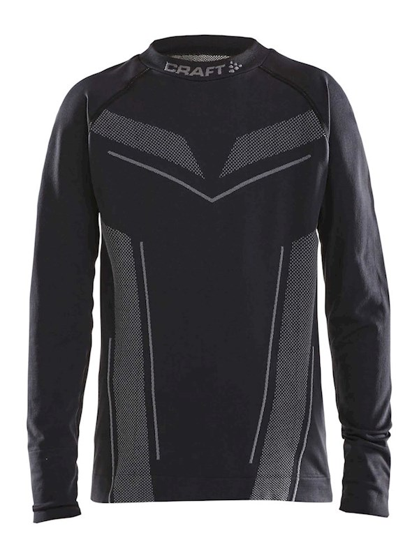 Craft Pro Control seamless jersey ls black 134/140