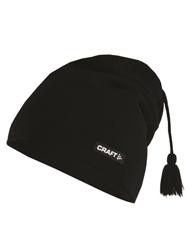 Craft Knitted hat promo black