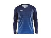 Craft Pro Control stripe jersey ls men navy/cobolt m
