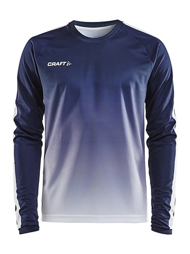 Craft Pro Control fade jersey ls men navy/white m