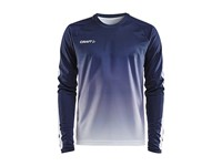 Craft Pro Control fade jersey ls men navy/white xxl
